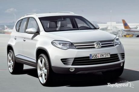 volkswagen tiguan restyling a detroit 2011 debutter il modello aggiornato. Black Bedroom Furniture Sets. Home Design Ideas