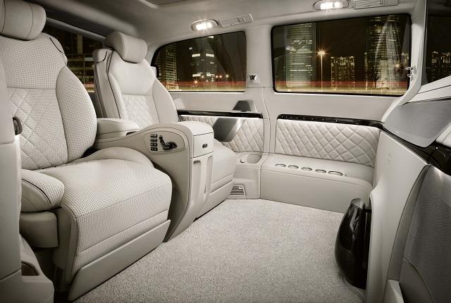 Mercedes viano vision diamond il lusso tedesco in mostra for Interni salone