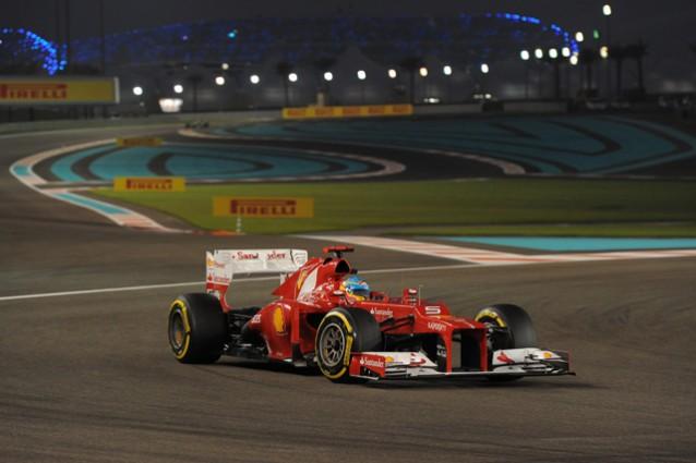 GP Formula 1 Abu Dhabi 2012 - Il sabato prima della gara