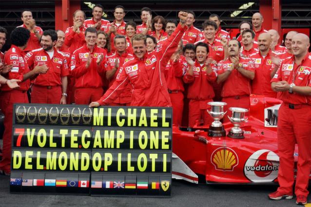 Ferrari Spa Mondiale 2004
