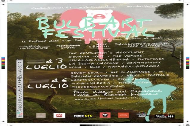 Bulbart Festival: una location spettacolare e ben 20 live!