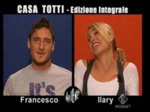 Totti e Ilary protagonisti di una divertente intervista doppia a Le Iene.