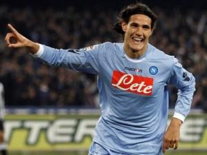Napoli-Juventus 3-0, il video dei gol di Cavani