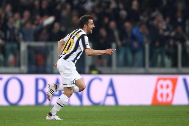 Del Piero risolve Juventus-Lazio