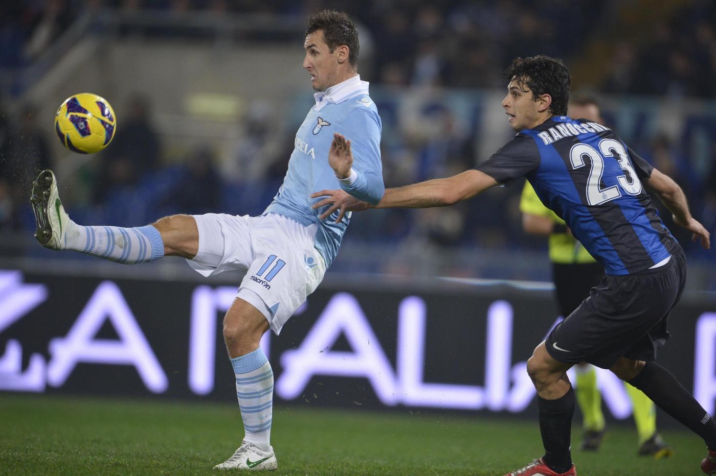 Lazio-Inter 1-0, Klose regala il successo a Petkovic (FOTO)