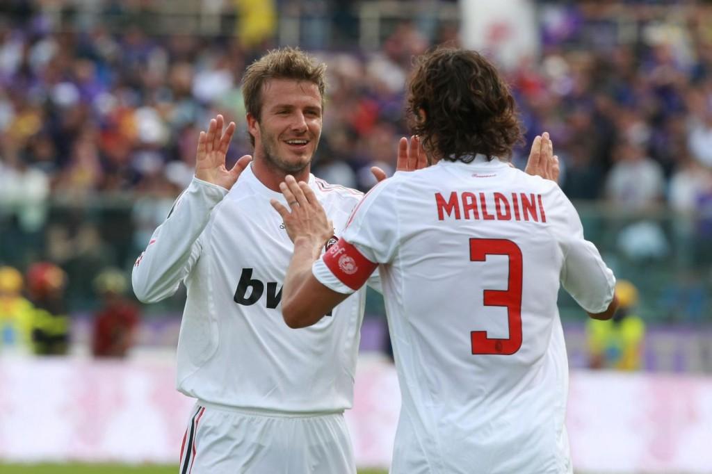 Beckham, amante del calcio: