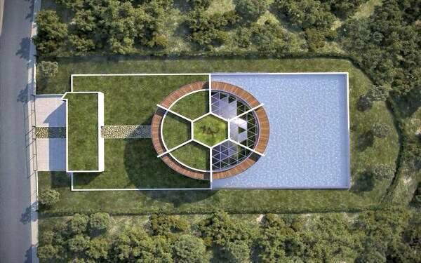 La nuova villa di messi una 39 casa stadio 39 video foto for Immagini di una casa