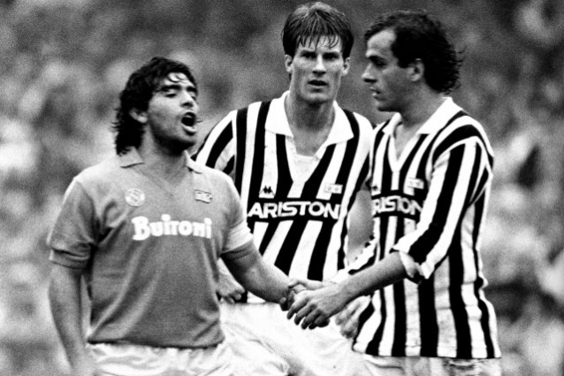 Juventus-Napoli, Maradona non andrà all'Allianz Stadium