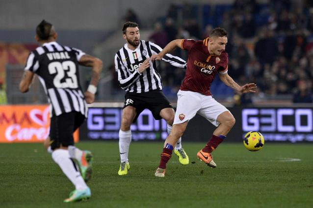 Roma-Juventus quarti di finale Coppa Italia 2013/2014