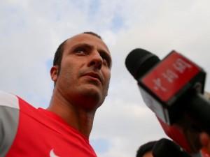"""Guangzhou, Gilardino: """"Suonerò il mio violino dei gol anche qui in Cina"""""""
