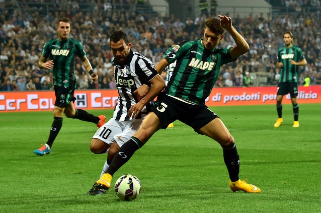 Sassuolo-Juventus diretta live 7a giornata Serie A 2014