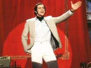 Jim Carrey, splendido e geniale in Man on the Moon di Milos Forman