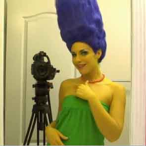 Marge Simpson in versione hot