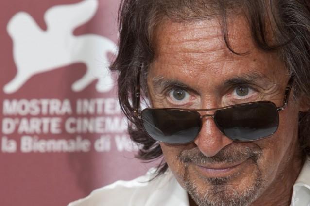Al Pacino al Teatro San Carlo di Napoli per la prima di Wilde Salome