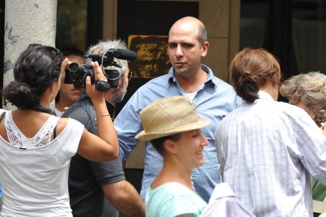 """Checco Zalone sul set del nuovo film """"Sole a catinelle"""" (FOTO)"""