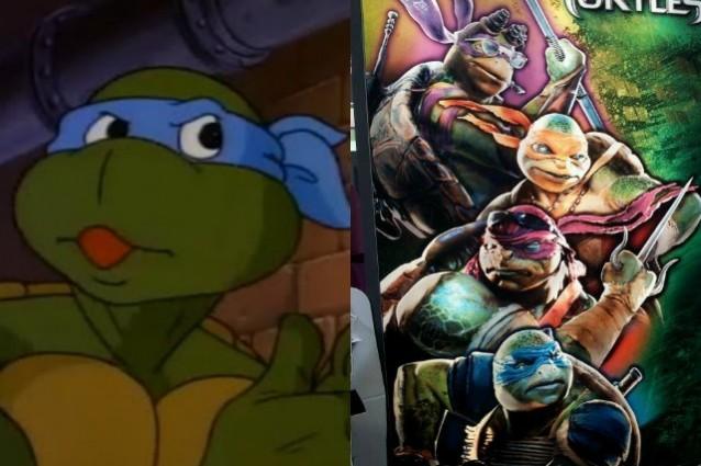 Tartarughe ninja irriconoscibili nel nuovo film i fan si