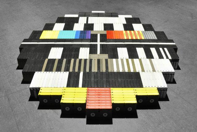 Testscreen l 39 installazione di cassette vhs for Premiato design di casette