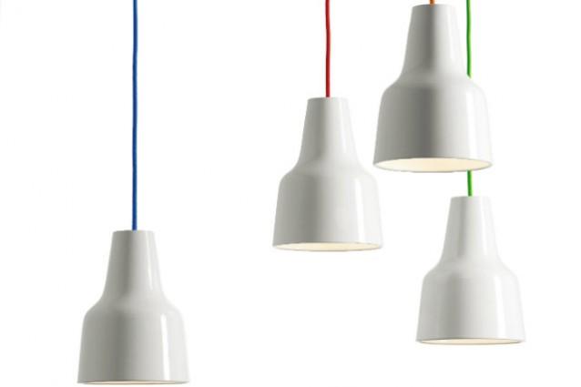 Lampada sospensione fili colorati lampadario con fili colorati fai da te lampadario a luna - Lampadari colorati design ...