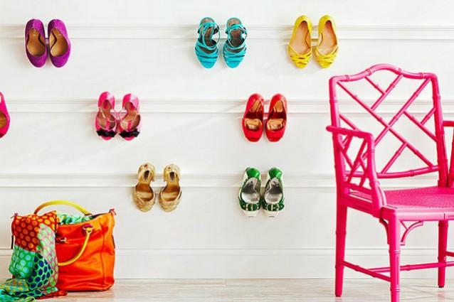 Idee fantasiose per mettere in ordine le scarpe e vivere felici