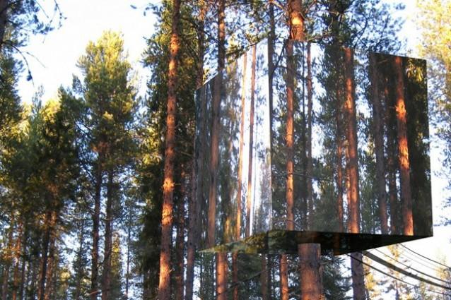 10 incredibili esempi di architettura invisibile for Architettura natura