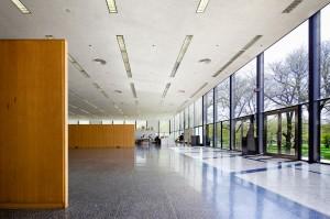 Crown Hall, IIT, Chicago. Mies van de Rohe (Photo Pete Sieger)
