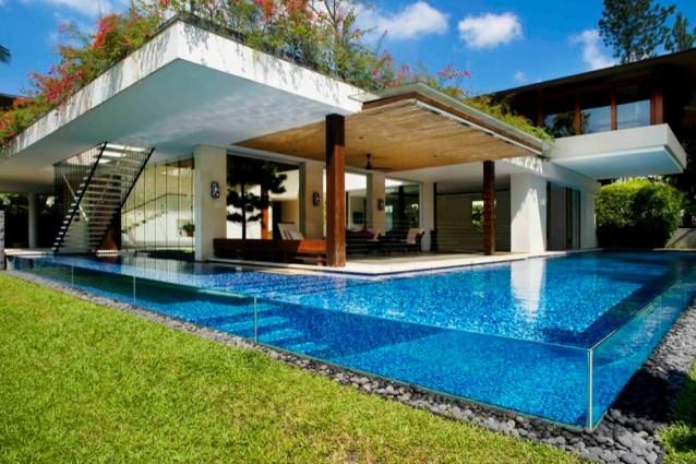 A Singapore una delle case più lussuose di sempre: la Tangga House