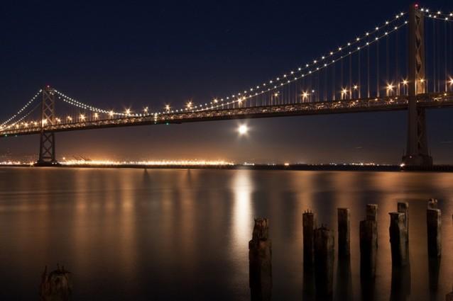 The Bay Lights a San Francisco è la più grande scultura di luce LED del mondo (VIDEO)