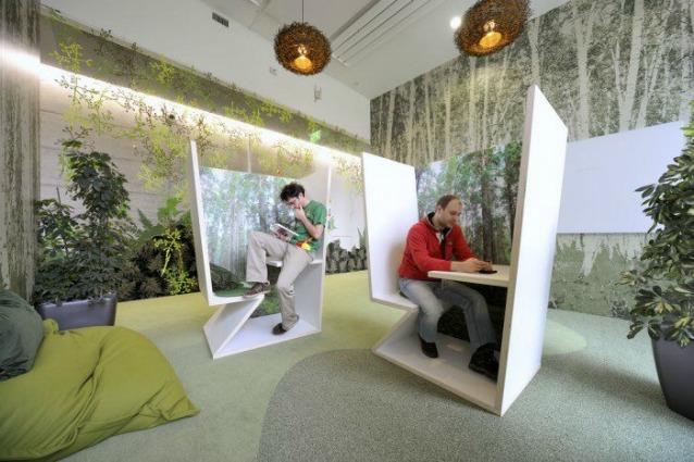 Il pi bel luogo in cui lavorare gli uffici di google a for Uffici condivisione milano