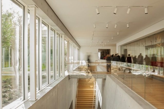Interior View of the Gallery November 2013–Ph. Nic Lehoux