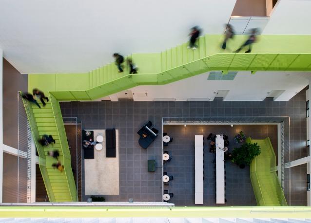 Il vitus bering innovation park in danimarca: un ufficio dinamico ed