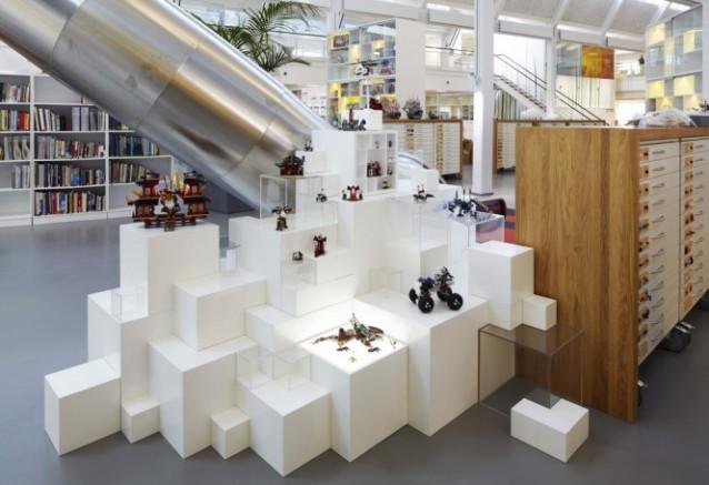 Piante Ufficio Open Space : Uffici lego in danimarca u2013 versione 2.0: impossibile non divertirsi