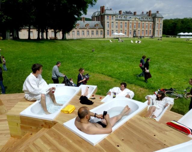 Chamarande les bains a parigi il bagno si fa nel parco - Si fa in bagno 94 ...