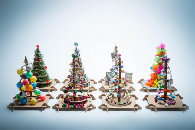 Favorito Alberi di Natale fai da te TreeBox, da un albero di cartone ne  MU32