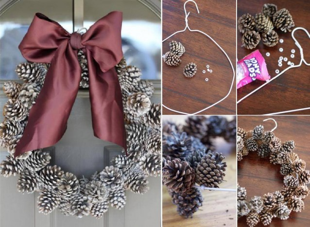 10 decorazioni natalizie fai da te semplici ed economiche