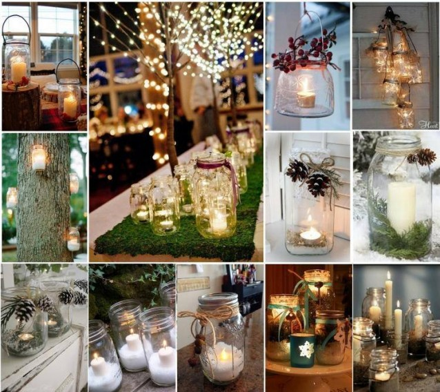 10 decorazioni natalizie fai da te semplici ed economiche - Idee per centrotavola di natale ...