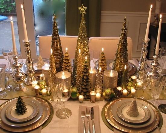 la tavola natalizia idee per decorazioni semplici ed eleganti - Decorazioni Natalizie Tavola