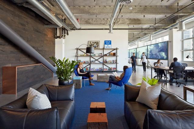 Gli uffici Dropbox a San Francisco: lavorare come a casa propria