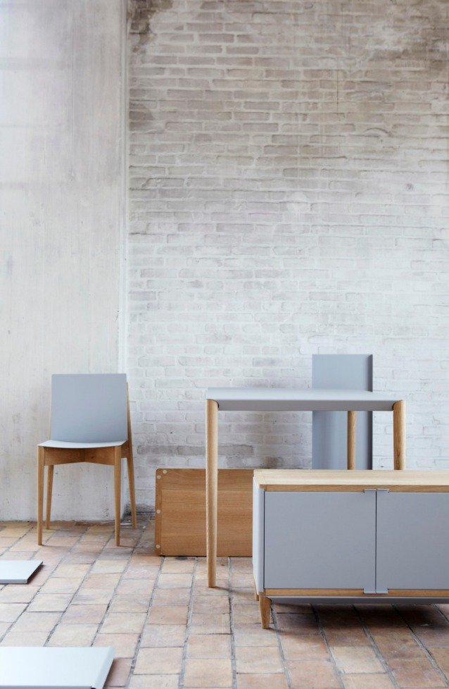 I mobili calamita di benjamin vereulen mai pi viti e for Sedie design milano
