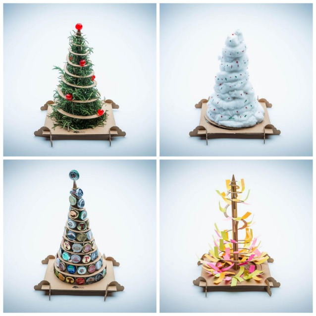 Top Alberi di Natale fai da te TreeBox, da un albero di cartone ne  KG67