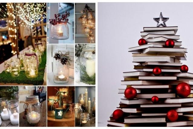 10 decorazioni natalizie fai da te semplici ed economiche for Decorazioni per la casa fai da te