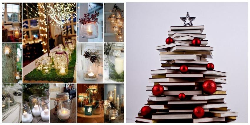 10 decorazioni natalizie fai da te semplici ed economiche for Fai da te decorazioni casa