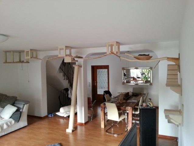 Con goldtatze la casa si trasforma in un parco giochi per for Tiragraffi per gatti ikea