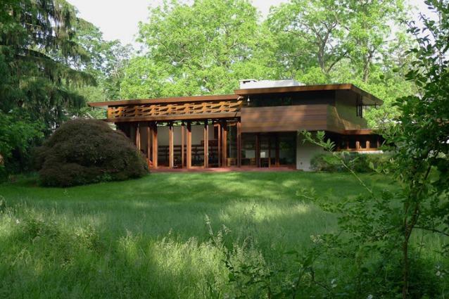 La casa di frank lloyd wright salvata dalle inondazioni for Architettura wright