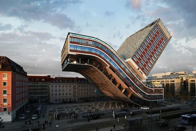 Architetture impossibili ecco gli edifici distorti di for Architettura case