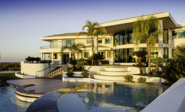 La villa di eddie murphy in california un cottage da for Texas piani casa personalizzati