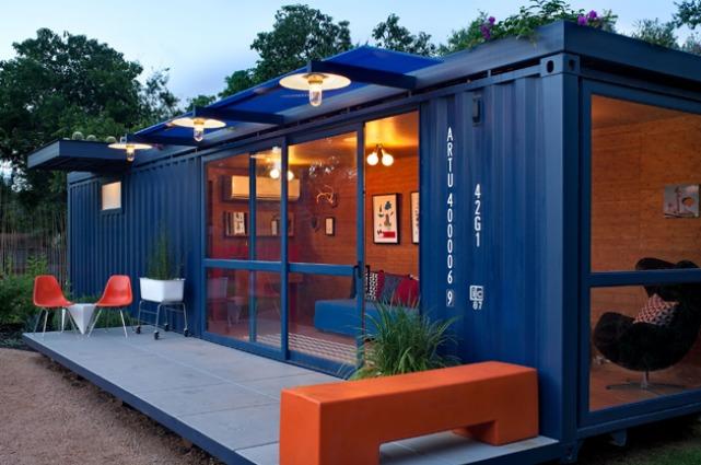 Ufficio A Container : Graceville container home la casa di container più grande del mondo