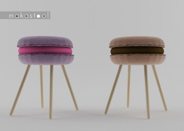 Sgabelli Da Mangiare : Makastool design da mangiare con gli occhi