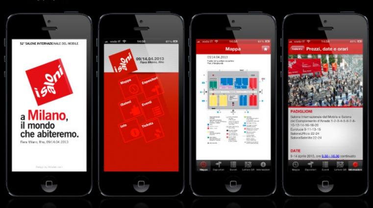Salone del mobile 2014 un 39 app per orientarsi nel design for App per design
