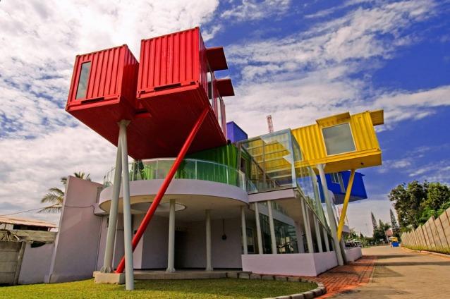 Amin library, photo © ganny gozaly. Image courtesy of dpavilion architects