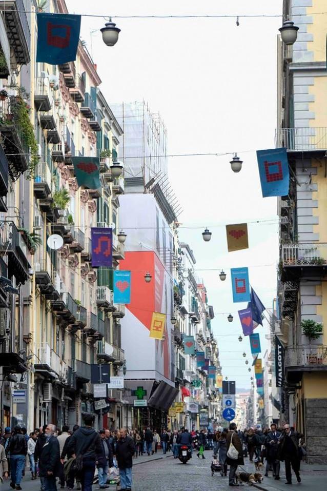 #cuoredinapoli – Festival del Bacio. Image Mediaintegrati